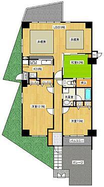 区分マンション-刈谷市築地町4丁目 物件の間取り図です
