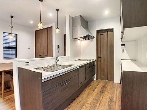 新築一戸建て-安城市城南町1丁目 家事楽回遊動線で毎日の家事が快適。
