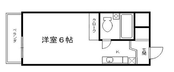 区分マンション-京都市右京区西院西高田町 一人暮らしにピッタリの間取り