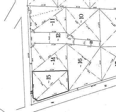 土地-さいたま市見沼区大字染谷 区画図