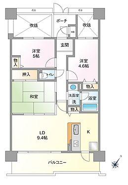 マンション(建物一部)-大阪市西淀川区佃5丁目 ファミリー向けの間取り
