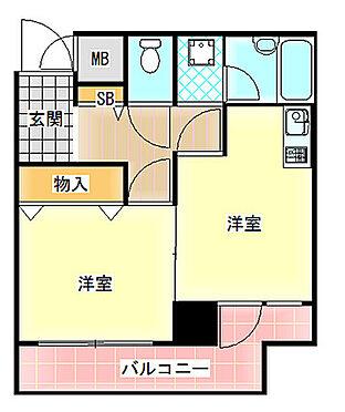 マンション(建物一部)-大阪市天王寺区餌差町 エアコン付・1DK