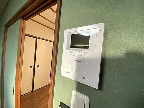 店舗・事務所・その他-京都市伏見区深草大亀谷東寺町 テレビモニター付きインターホン。