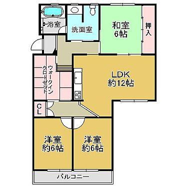 マンション(建物一部)-茨木市平田台 間取り