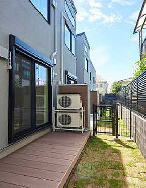 アパート-武蔵野市吉祥寺東町2丁目 1階部分テラス、専用庭