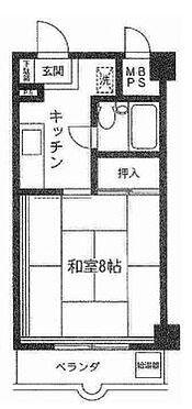 マンション(建物一部)-横浜市南区井土ケ谷中町 間取り