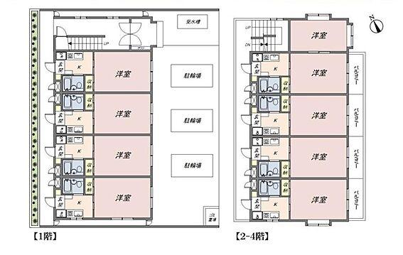 マンション(建物全部)-坂戸市三光町 間取り