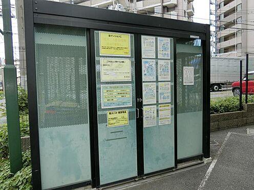 区分マンション-所沢市西所沢1丁目 『ゴミ置場』 居住者専用ゴミ置場があります。