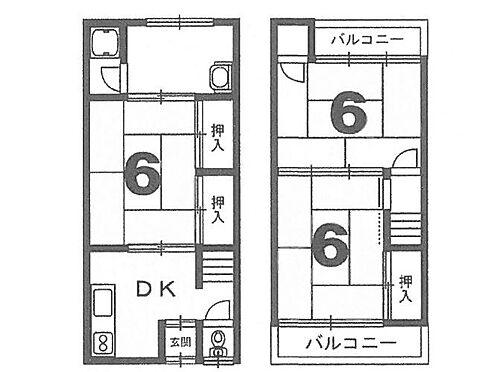 建物全部その他-京都市山科区大塚元屋敷町 間取り