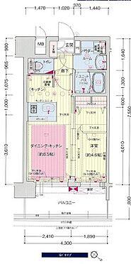 区分マンション-神戸市中央区橘通4丁目 間取り