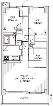区分マンション-名古屋市熱田区八番2丁目 間取り