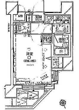 マンション(建物一部)-港区芝浦1丁目 間取り