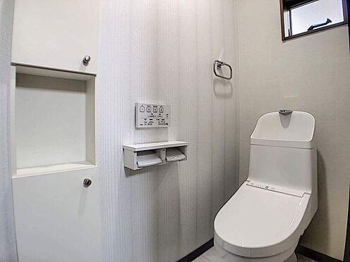 戸建賃貸-一宮市木曽川町門間字筋違 トイレは1階・2階にございます!