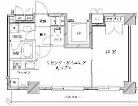 マンション(建物一部)-台東区松が谷2丁目 間取り