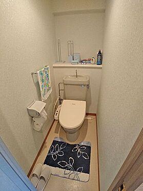 中古マンション-賀茂郡東伊豆町奈良本 トイレも使用感が少ないと思います。