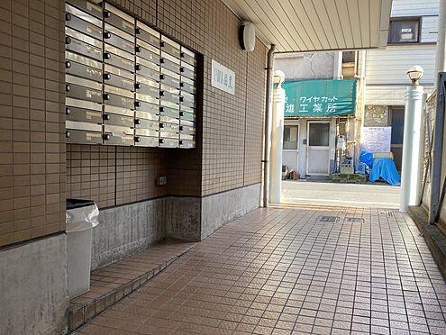 中古マンション-目黒区洗足1丁目 敷地内集合ポスト