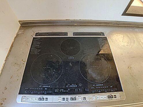 戸建賃貸-西尾市横手町溝東 オール電化は空気も汚れず、IHキッチンでお掃除もラクラク!