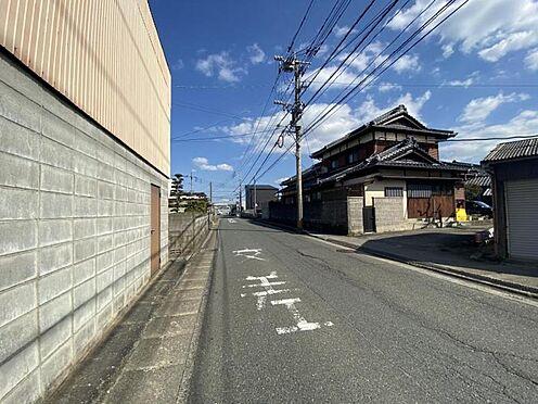 土地-福岡市西区戸切2丁目 南西側前面道路です☆
