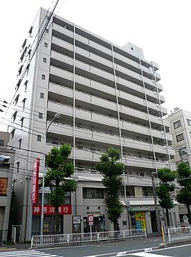 マンション(建物一部)-横浜市西区中央1丁目 タイル張りの外観