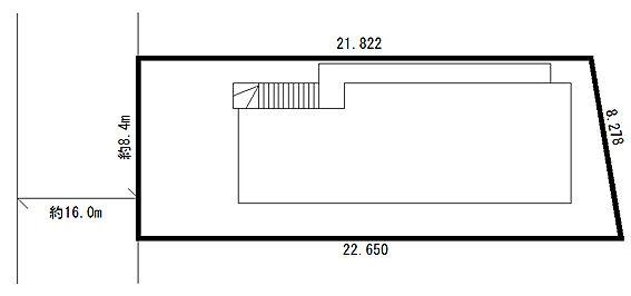 アパート-八王子市南大沢2丁目 区画図