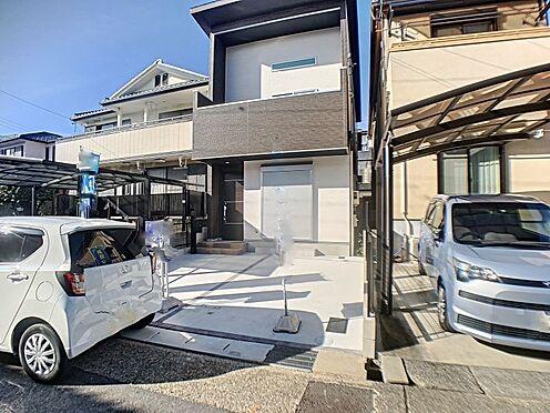 新築一戸建て-名古屋市守山区天子田1丁目 閑静な住宅街の南向きの物件です。