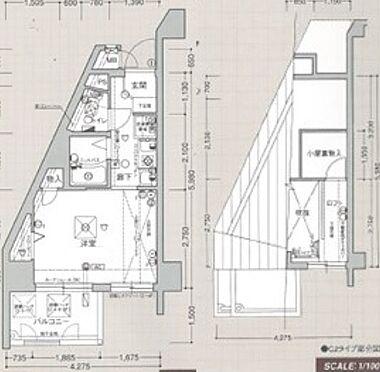マンション(建物一部)-大阪市天王寺区逢阪2丁目 ロフト部分にも収納スペースがあるので便利。
