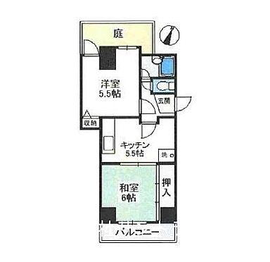マンション(建物一部)-神戸市兵庫区御崎本町1丁目 間取り