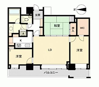 マンション(建物一部)-福岡市早良区百道浜4丁目 間取り