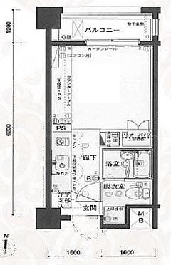 区分マンション-川崎市中原区今井西町 間取り