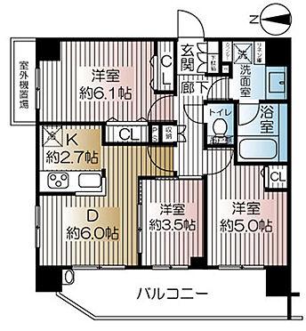 マンション(建物一部)-府中市武蔵台2丁目 間取り