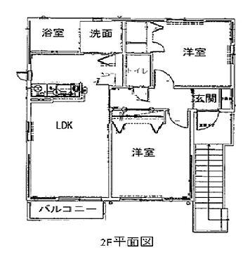 アパート-浜松市北区細江町中川 間取り