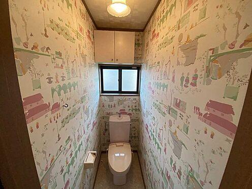 中古一戸建て-江南市曽本町幼川添 2階トイレ。