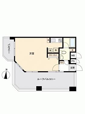 区分マンション-福岡市博多区住吉3丁目 間取り