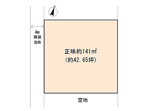 土地-東松山市大字大谷 区画図