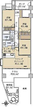 中古マンション-藤沢市辻堂新町2丁目 間取り