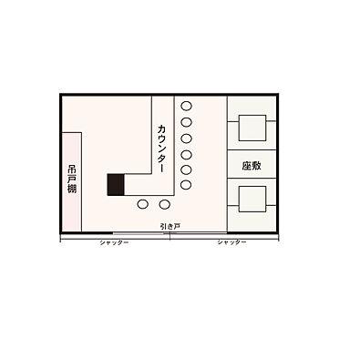 店舗(建物一部)-横浜市南区井土ケ谷下町 間取り