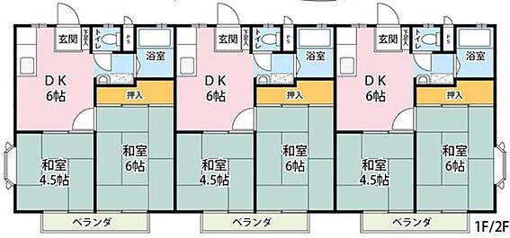 アパート-茅ヶ崎市浜須賀 間取り