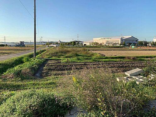 土地-みよし市三好町井ノ花 現地からみた眺望(西側)
