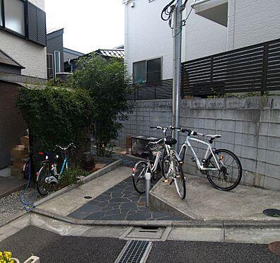 アパート-渋谷区上原2丁目 玄関口