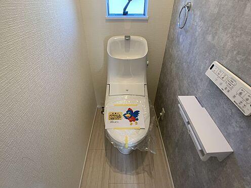 戸建賃貸-豊田市永覚新町1丁目 フチのない形状と汚れが付きにくい素材を使用しているため、お掃除楽々。
