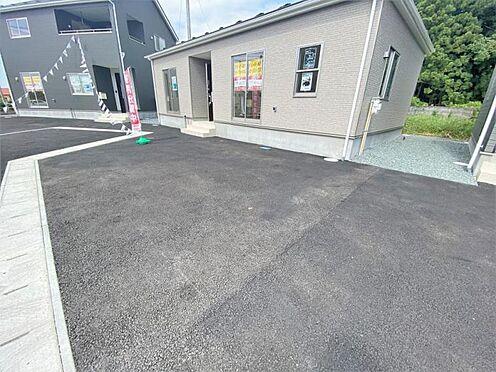新築一戸建て-奥州市水沢字桜屋敷 駐車場