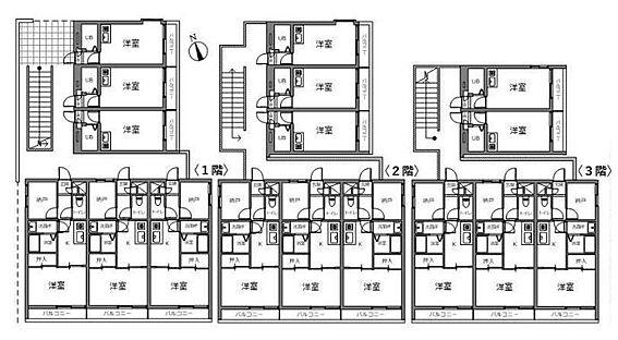 マンション(建物全部)-相模原市緑区下九沢 間取り