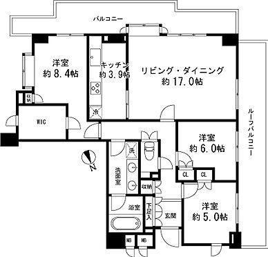 マンション(建物一部)-大田区山王2丁目 間取り