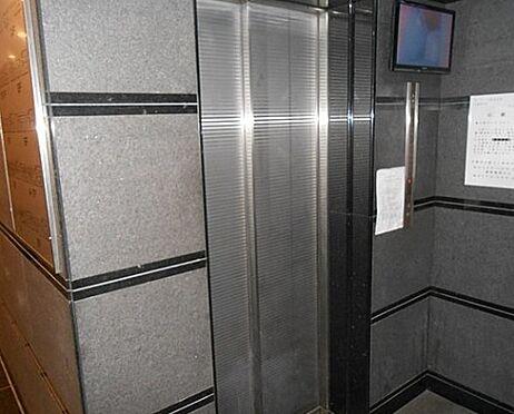 区分マンション-京都市下京区上柳町 防犯カメラ搭載エレベーター