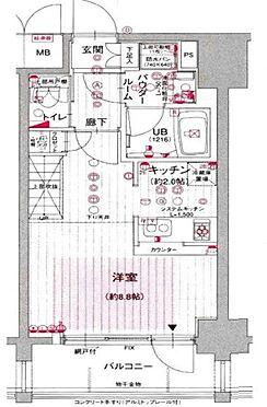 マンション(建物一部)-大阪市西淀川区姫島1丁目 間取り