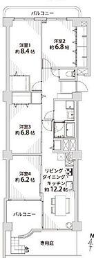 中古マンション-名古屋市名東区名東本町 4LDKでゆとりある室内!収納も充実しています!