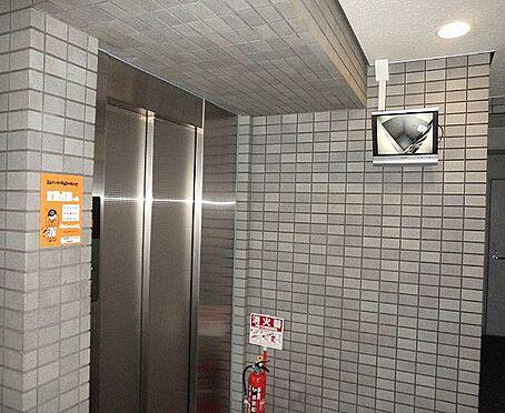 マンション(建物一部)-京都市下京区順風町 防犯カメラ搭載のエレベーター