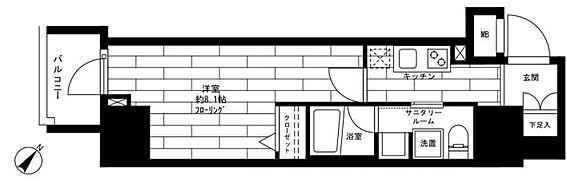 マンション(建物一部)-大田区蒲田4丁目 間取り