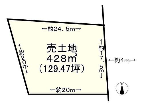 土地-神戸市垂水区舞子坂1丁目 区画図