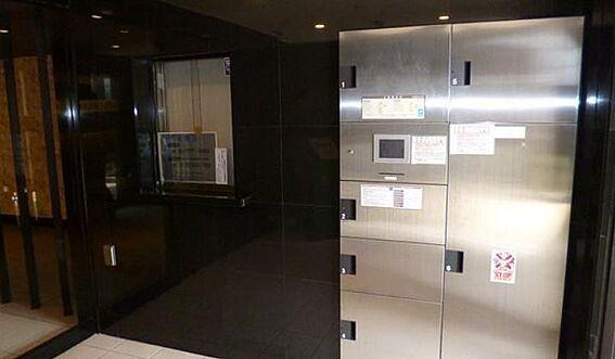 マンション(建物一部)-大阪市阿倍野区天王寺町南3丁目 宅配ボックスがあるからお出かけの際も安心。